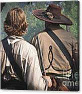 Guns By Our Side We Ride Canvas Print