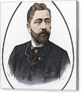 Gustave Eiffel, French Architect Canvas Print