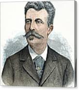 Guy De Maupassant Canvas Print