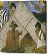 Gypsy Encampment Canvas Print