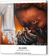 H2ope Canvas Print