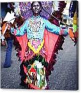 Haiti - Carnaval Indian Outfit Canvas Print