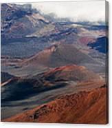 Haleakala Volcano Canvas Print