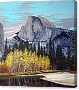 Half-dome Canvas Print