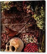 Halloween Still Life Canvas Print