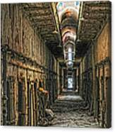 Hallway Eastern State Penitentiary  Canvas Print