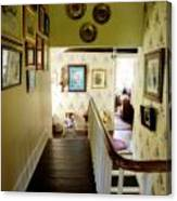 Hallway In Home Of Anna Jarvis Canvas Print