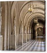 Hallway In Palace Of Versaille Canvas Print