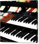 Hammond Electric Organ Canvas Print