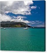 Hanalei Bay Kauai Canvas Print