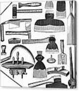 Hand Tools, 1876 Canvas Print