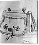 Handbag Canvas Print