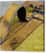 Handle On A Suitcase  Canvas Print