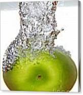 Handy Green Apple Canvas Print