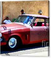 Hanging With My Buddy . 1953 Studebaker .  5d16513 Canvas Print