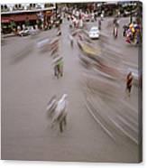 Hanoi Motion Canvas Print