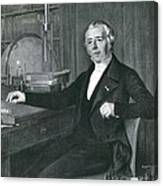 Hans Christian �rsted, Danish Physicist Canvas Print