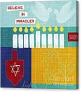 Hanukkah Miracles Canvas Print