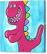 Happosaur Canvas Print