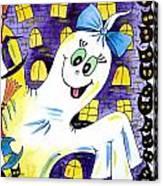 Happy Halloween - 2 Canvas Print