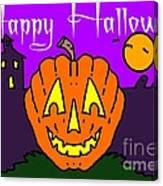 Happy Halloween 2 Canvas Print