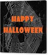 Happy Halloween Web  Canvas Print