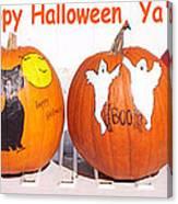 Happy Halloween  Yall Canvas Print