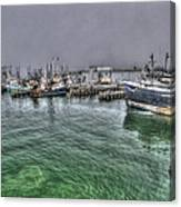 Harbor Dawn Canvas Print