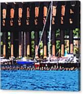 Harbor Docks Canvas Print