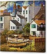 Harbor Houses Canvas Print