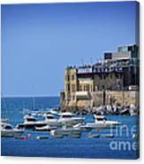 Harbor - North Coast Of Spain Canvas Print