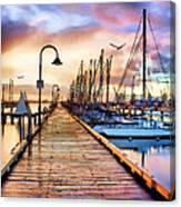 Harbor Town Canvas Print
