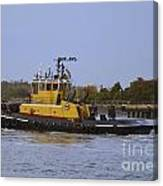 Harbor Tug Savannah Canvas Print