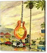 Hard Rock Cafe Las Vegas Canvas Print