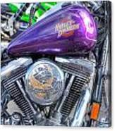 Harley Davidson 3 Canvas Print