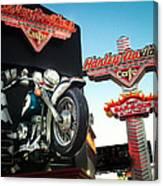 Harley Davidson Cafe Las Vegas Canvas Print
