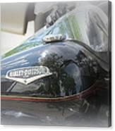 Harley Davidson Emblem Canvas Print