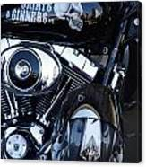 Harley Engine Canvas Print