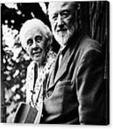 Harmony And Charles Ives At West Canvas Print