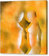 Harmony Of Three Canvas Print