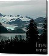Harriman Glacier Canvas Print