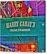 Harry Caray's Canvas Print