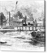 Hartford, 1853 Canvas Print