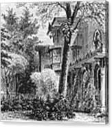 Hartford: Armsear Mansion Canvas Print
