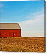 Harvest Is In Canvas Print