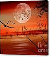 Harvest Moon Canvas Print