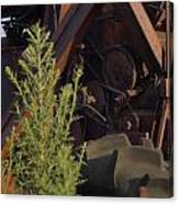 Harvester Working Parts 2 Canvas Print