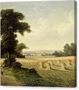 Harvesting Canvas Print