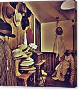 Hat Room Canvas Print