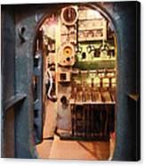 Hatch In Submarine Canvas Print